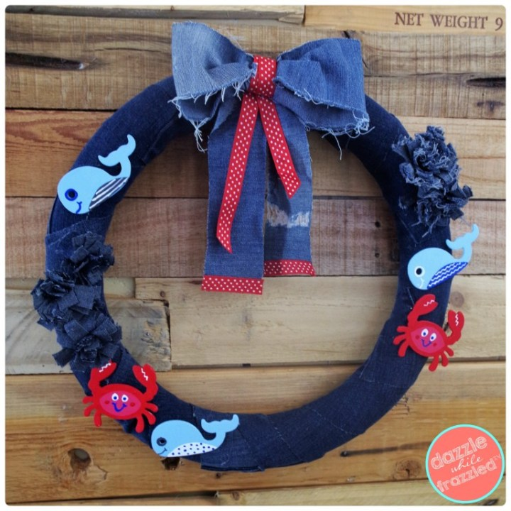 DIY-Nautical-Ocean-Denim-Wreath-collage-9